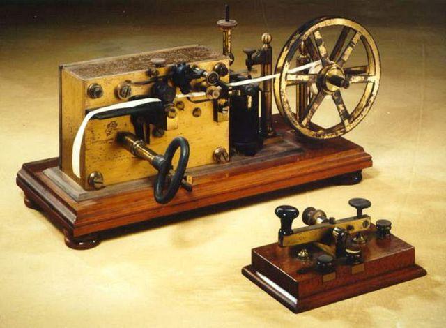 Invención del telégrafo de Samuel Morse