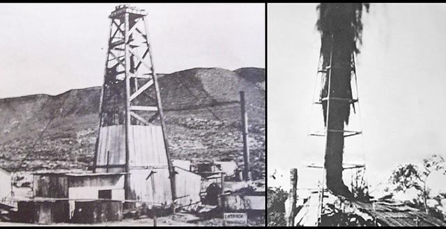 Primer pozo de petróleo de EE.UU