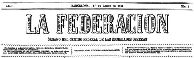 Creación e la Asociacion Internacional de trabajadores en España