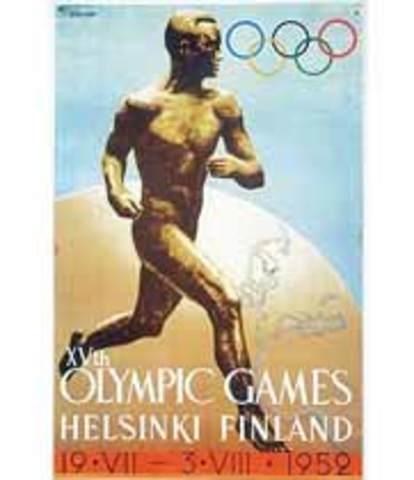 Los Juegos Olímpicos de Helsinki