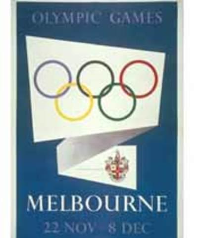 Los Juegos Olímpicos de Melbourne