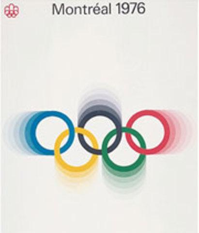 Los Juegos Olímpicos de Montreal