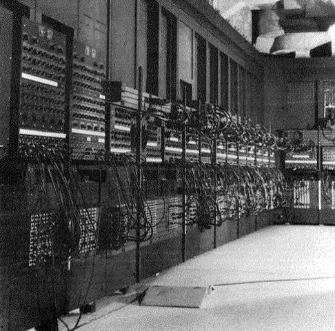 La primera computadora electronica