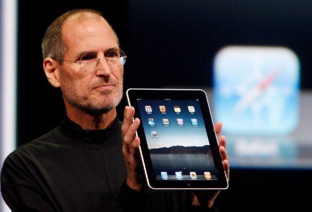 Steve Jobs-iPad