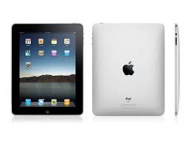 Lanzamiento del iPad