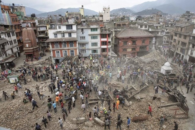 רעידת אדמה בנפאל