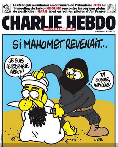 פיגוע במשרדי המגזין שארלי הבדו, צרפת