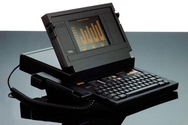 La primera Laptop.