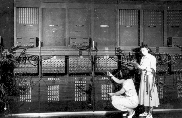 "Primera Computadora Electrónica llamada ""ENIAC"""