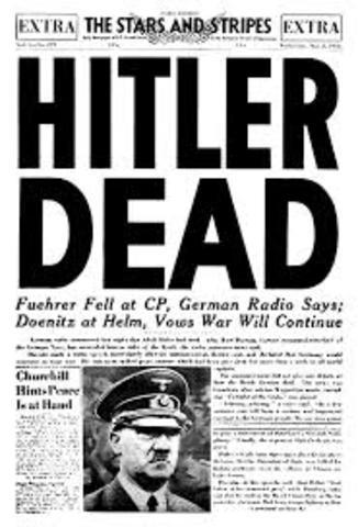 Hitlers Suicide/ German Surrender