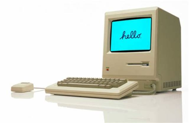 Lanzamiento de la Macintosh
