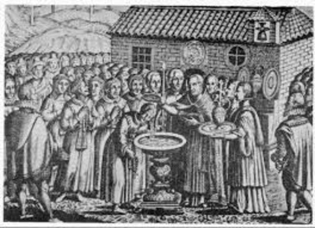 bautismo obligatorio de los musulmanes. 1502