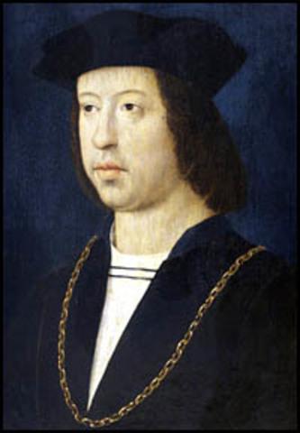 muere Fernando el católico.1516