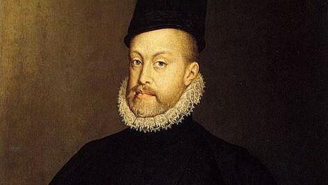 Inicio del reinado de Felipe II, rey de España(1556)