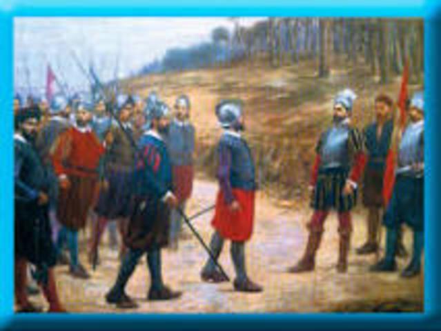 Conquista del imperio inca. (1531-35)