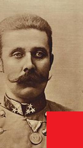 Asesinato del archiduque Francisco Fernando de Habsburgo por Gavrilo Princip