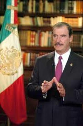 Plan Nacional del Desarrollo Vicente Fox Quesada