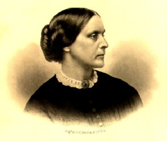 Susan B. Anthony asks for equal pay as men on behalf of all teachers