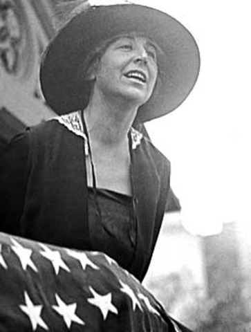 First woman elected to the House of Representatives