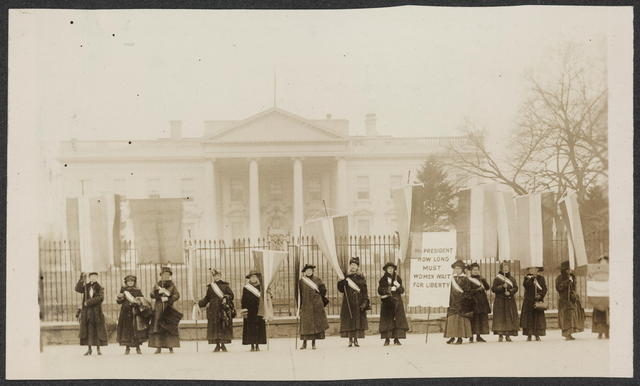 Alice Paul and Lucy Burns form the National Women's Party
