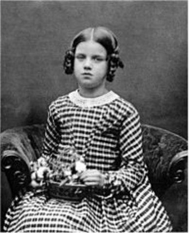 Anne Darwin (su hija) fallece