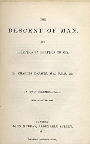 Libro: El origen del hombre y la selección en relación al sexo
