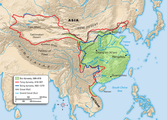 14.1: China: Reunification