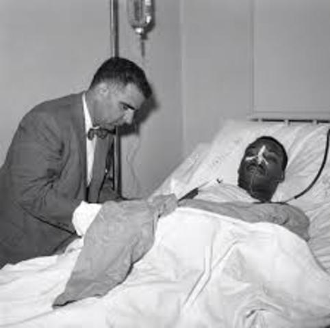 Martin Luther King Jr. Escapes Assasination