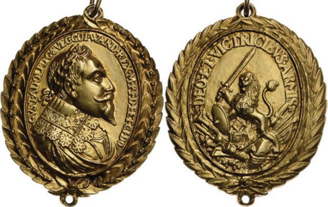 Recibimiento de la Medalla Real concedida por la Royal Society
