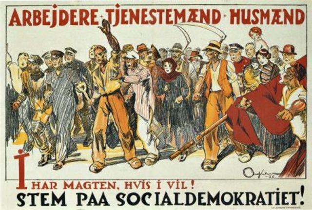 Socialdemokraterne repræsenteret i folktinget