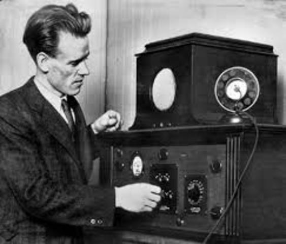 First TV Transmission