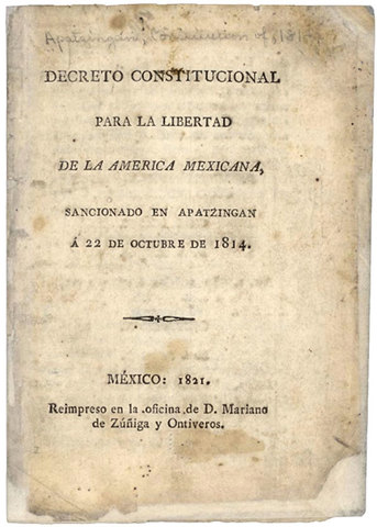 Decreto Constitucional de la América Mexicana