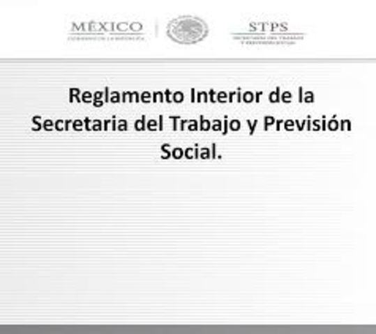 Reglamento interior de la STPS