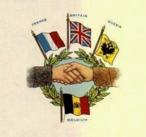 Alianza firmada con Reino Unido