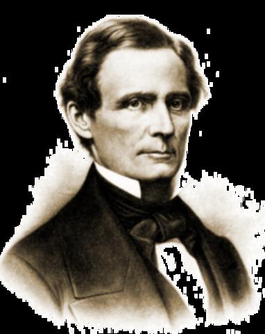 Appointment of Jefferson Davis