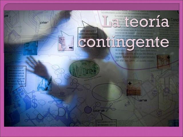 Características de la Teoría Contingente