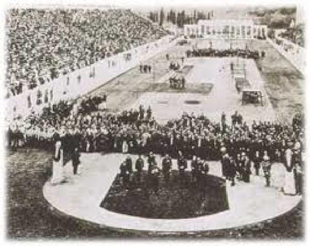 Primeros juegos Olimpicos de la natacion