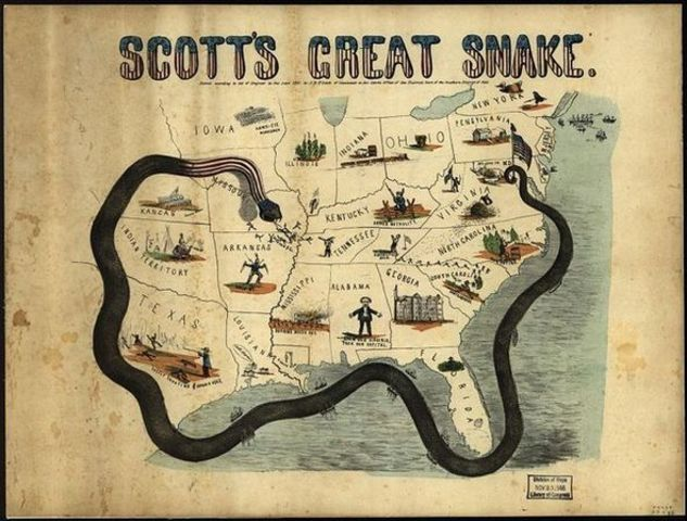 winfield scottand the anaconda plan