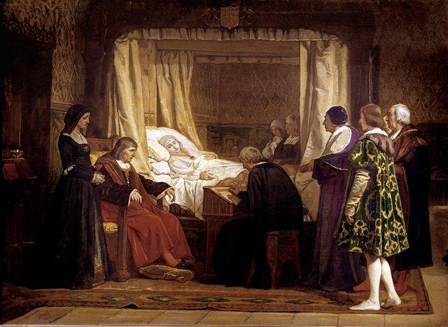 Mort de Felipe el Hermoso