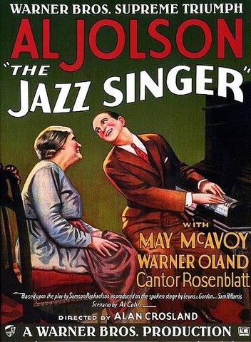 The Jazz Singer, de eerste geluidsfilm