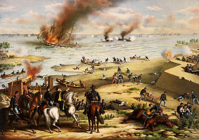 Monitor and Merrimack (Battle of Hampton Roads)