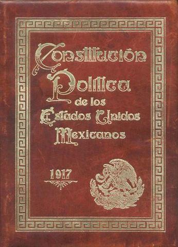 """Promulgación de la """"Constitución Política de los Estados Unidos Mexicanos""""."""