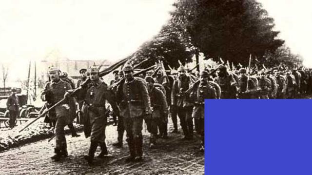 Comienzo de la batalla de Verdún (hasta el 18 de diciembre): 500.000 muertos, franceses y alemanes