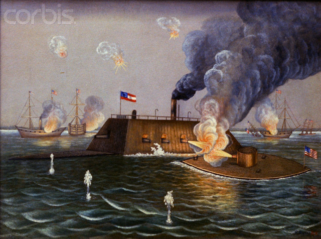 Battle of the Monitor and Merrimac***