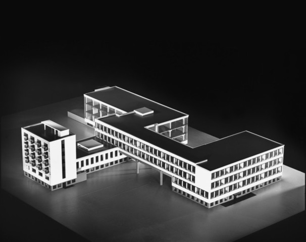 Edificio de la Bauhaus en Desau
