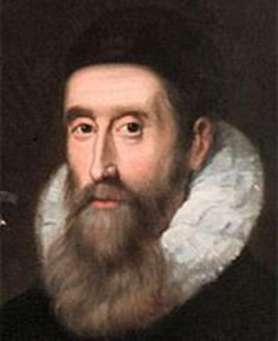 ohn Napier (1550-1617) publicó un texto sobre el descubrimiento del logaritimo.