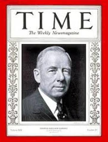 Time Magazine Debuts