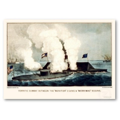 Battle of Monitor and Merrimac