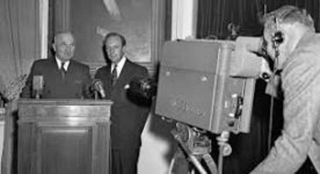First President to Speak on Live TV