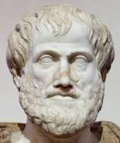 Aristóteles (Año 348-284 a.C.)